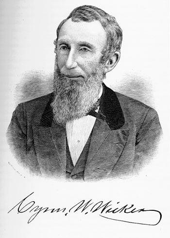 Biography of Cyrus Washburn Wicker