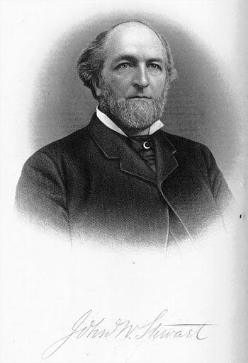 Biography of John Wolcott Stewart