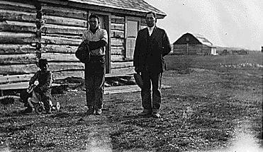 Oliver Racine, Blackfeet Tribe