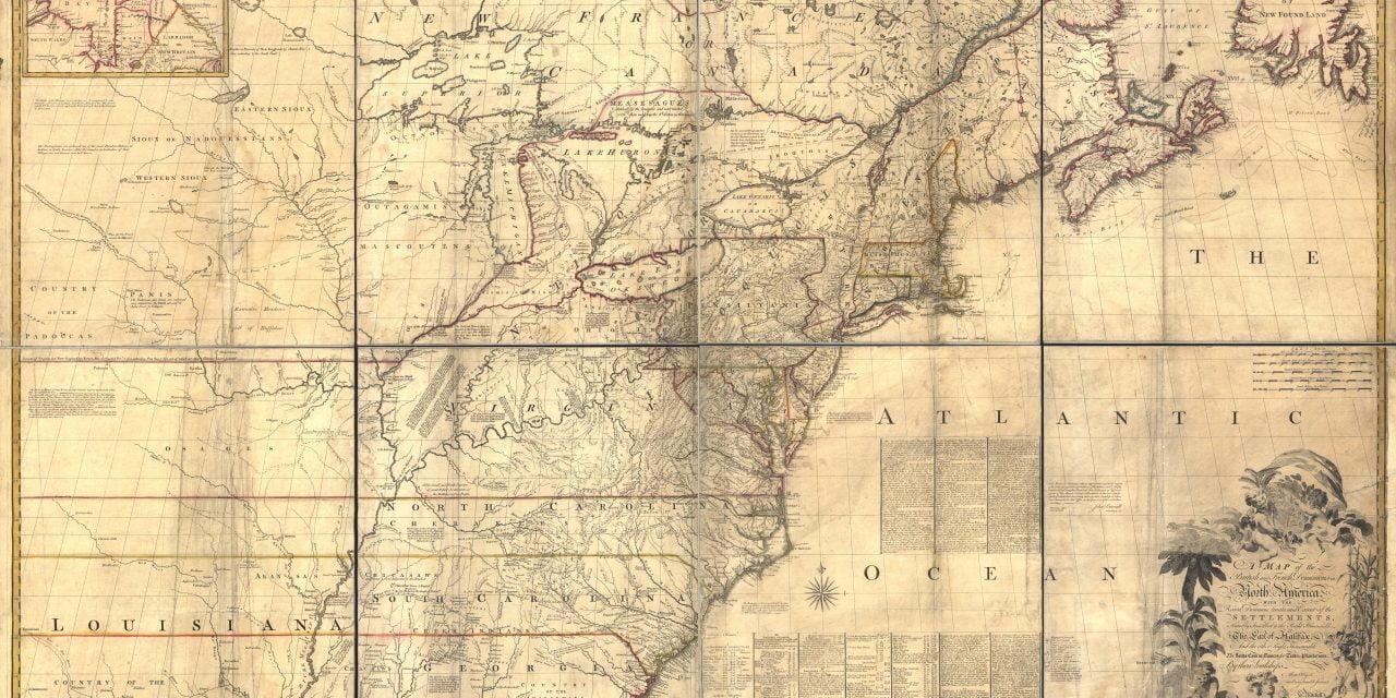 John Mitchell's Map