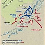 Map of Battle of the Big Hole