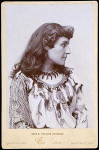 Emily Pauline Johnson (Tekahionwake) 1895