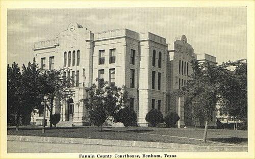 History of Fannin County Texas