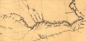 Fremont Exploration Map Detail
