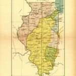 Illinois Land Cessions Map
