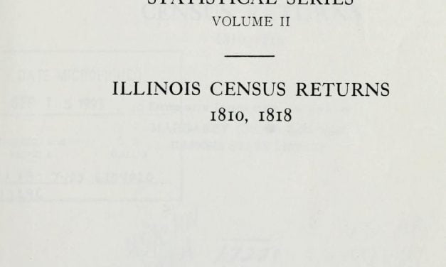 1818 Illinois State Census