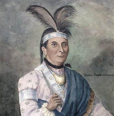 Thayendanegea, Captain Joseph Brant