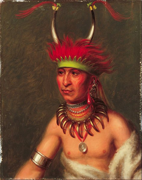 Big Blue River Kansas Indians