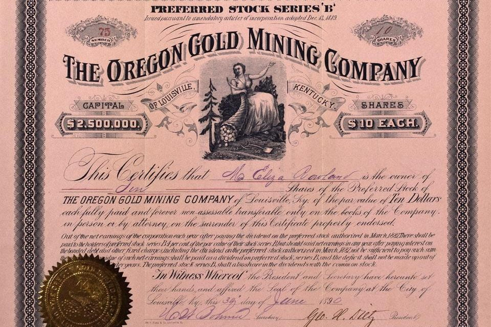 Baker County Oregon Gold Mining History