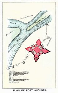 Plan of Fort Augusta
