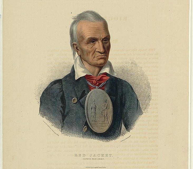 Red Jacket, Seneca War Chief