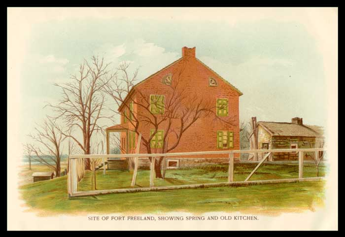 Fort Freeland, Northumberland County, Pennsylvania