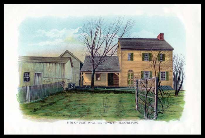Fort McClure, Columbia County, Pennsylvania
