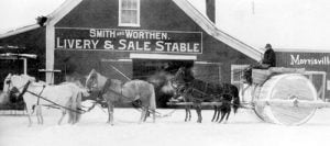 Smith and Worthen Livery and Stable Morrisville VT