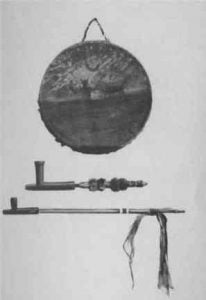 Ceremonial objects of the Potawatomi