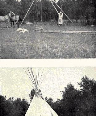 Tipi and Earth Lodges of the Plains Tribes