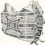 Fig. 27. Bag decorated with Porcupine Quills and Beads. Dakota.