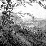 Donaldson Ridge and gap from Spray Ridge, 1891