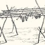 Fig. 3. Meat Drying Rack. Blackfoot.
