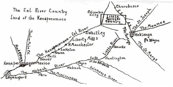 The More Farm, The Eel River Post