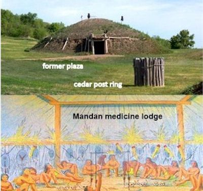Earth Lodges of the Mandan, Arikara and Hidatsa