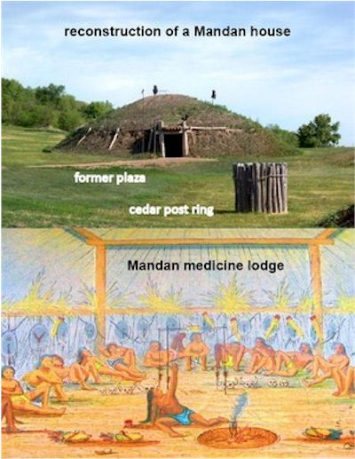 Earth Lodges of the Mandan, Arikara and Hidatsa