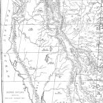 First Half of George Catlin's Map of Indian Country
