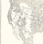 Map of Distribution of Forests in Western United States