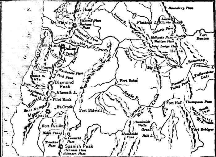 Montana Settlement, Geology, Exploration, 1728-1862