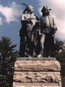 Battle of Lake George Monument