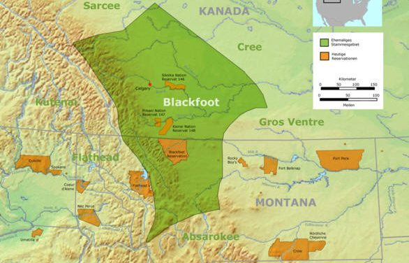 Social Life of the Blackfoot Indians