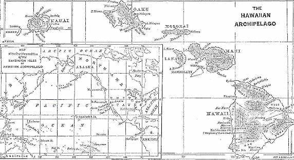 Historical Maps of the Hawaiian Archipelago