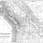 Map of Native Races of the Pacific States