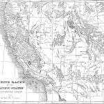 Map 2 of Native Races of the Pacific States