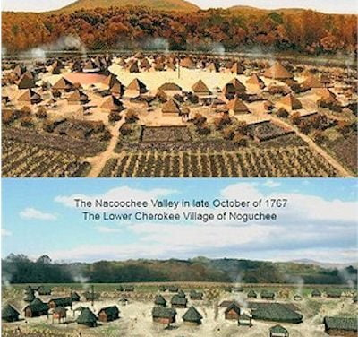 Cherokees in Nacoochee Valley