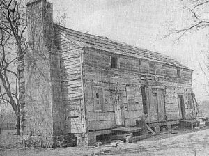 The Old Farm House: The Pioneer Home of a Choctaw Chief, Leflore, and of the Oak Hill School