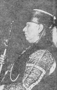 An Osage Chief