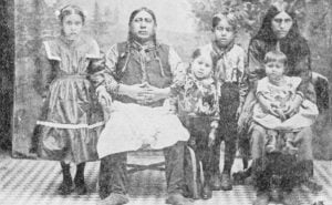 An Osage Family