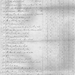 Osage 1842 Census Roll Page 1