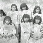 Mojave Indian School Girls
