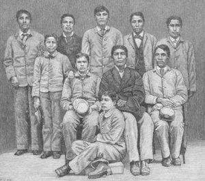 Group of Indian Young men after Education