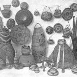 Collection of Baskets, Hoopa Valley Indians