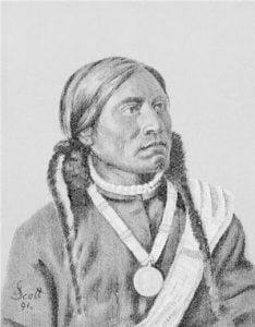 Piah, Ute Chief, Colorado 1891