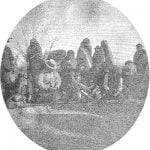 "Bannock and Shoshone Indians playing ""Hand"" November 1890"