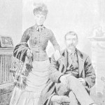J. H. Cushway and daughter, half-blood Potawatomie Indians