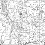 1840 Map of the United States Indian Frontier