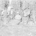Siletz Indians in Hop Yard