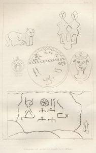 Annexed Rock Inscriptions - Plate 66