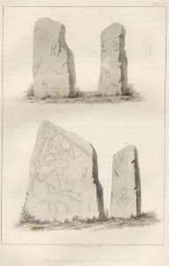 Pictography on Rock - Plate 67
