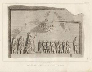 Triumphal Tablet of Belistun Persia - Plate 69